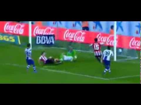 Espanyol vs Athletic Bilbao 3-2 Óscar de Marcos Goal And Highlights 23.09.2013