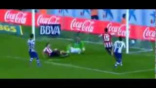 Espanyol vs Athletic Bilbao 3-2 Óscar de Marcos Goal And Highlights 23.09.2013