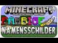 Minecraft PS3/PS4 Edition - farbige Namensschilder Tutorial (TU19) [German]