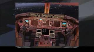 777-200ER Landing in Leipzig-Halle