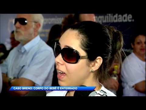 Bebê Breno é enterrado e polícia aguarda depoimento da médica