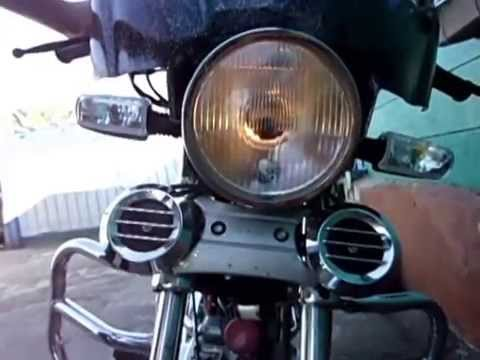 хороший свет на мопед ALPHA / лампочка M2s - YouTube