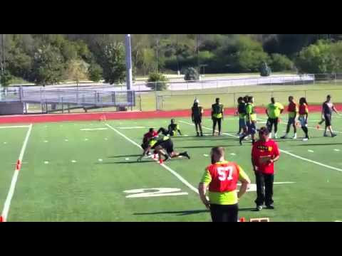 Octavio Gonzalez 40 Yard dash 4.68 at MLFB Pro day. November 2015
