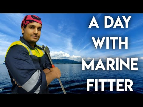 A Day With Marine Fitter || Job Responsibilities || ITI Marine Fitter Course