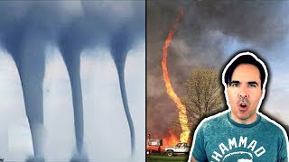 10 Terrifying Tornadoes Caught On Camera!