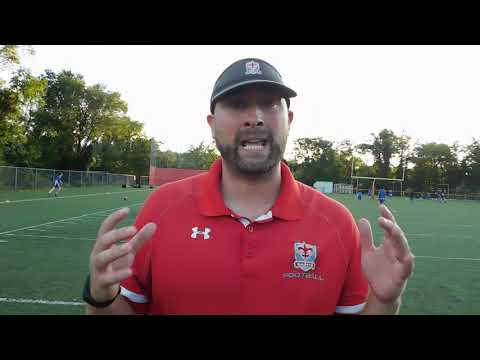 Concordia Prep football coach Josh Ward 09/13/18