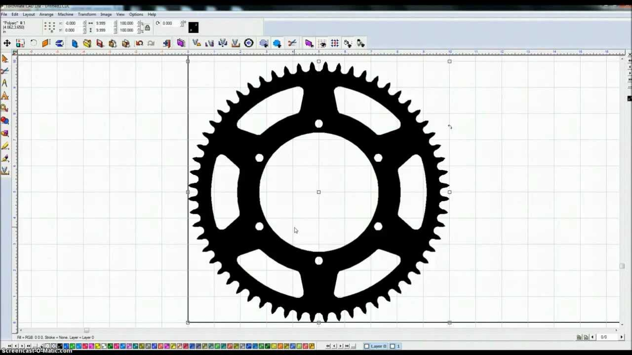 Torchmate Cad Cam Sprocketeer 2 0 Designing A Sprocket Youtube