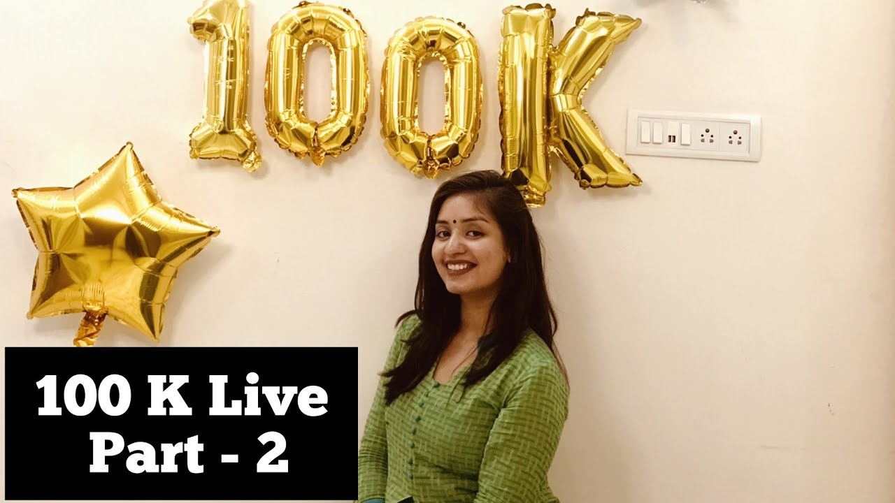 100 K Live Q & A with My Youtube Family Part - 2