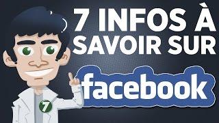 7 infos à savoir sur Facebook