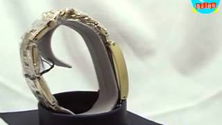 Guess Ladies Elegant Dress Watch With Bracelet Chain Strap W0072L1