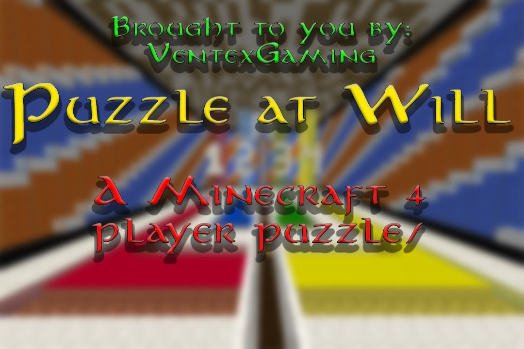 Puzzle At Will A Player PuzzleAdventure Map Teaser As - Minecraft adventure maps fur 3 spieler