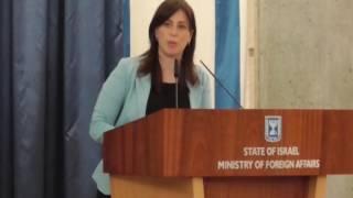 התייחסות סגנית השר חוטובלי למתרחש בסוריה