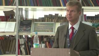 Советник ЕС в РФ Ричард Бургер - презентация программы Евросоюза «Горизонт 2020»