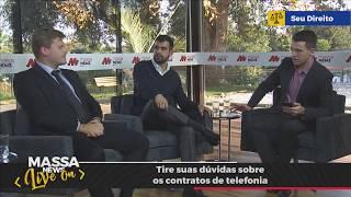 📺 Quais são as Principais Reclamações em Contratos de Telefonia | Massa News LIVE ON