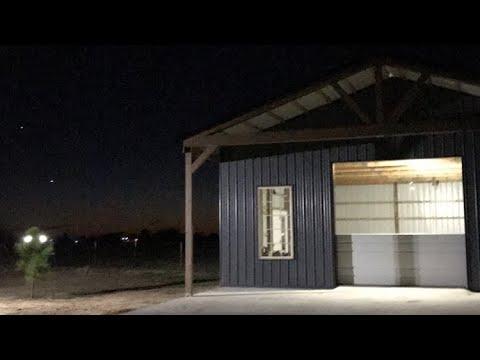 Pole Barn Construction DIY 30'x40'x12'