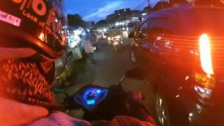 Xiaomi Yi cam Action malam hari