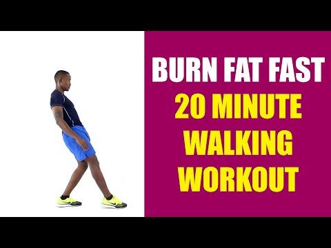 Burn Fat Fast | 20 Minute Walking Workout
