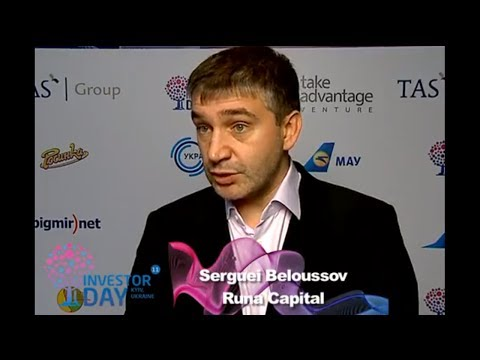 IDCEE 2011: Official Interview with Serguei Beloussov (Senior Partner @Runa Capital)