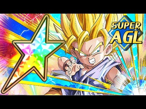 100% AGL SSJ2 GOKU GT SHOWCASE Technique Vs. Strength Dragon Ball Z Dokkan Battle