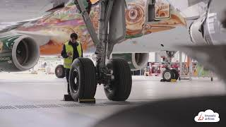 Behind the scenes: unpacking our planes