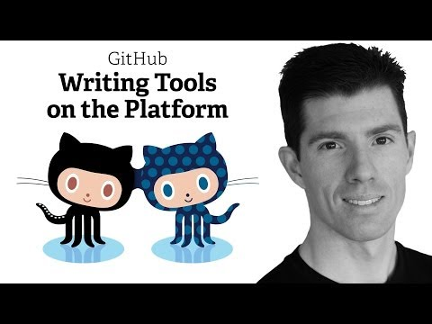 Webcast • Writing Tools on the GitHub Platform