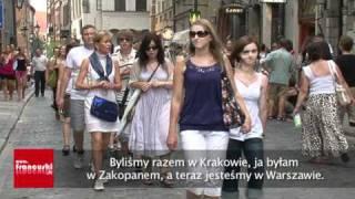 Les Français en vacances à Varsovie