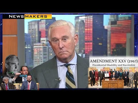 Roger Stone In-depth Interview Discusses Mueller, Trump, 25thA , Russia Probe & Uranium One