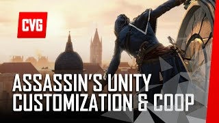 Assassins Creed Unity Customization and coop trailer