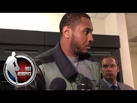 Carmelo Anthony explains why he will not get angry over his ejection   NBA on ESPN