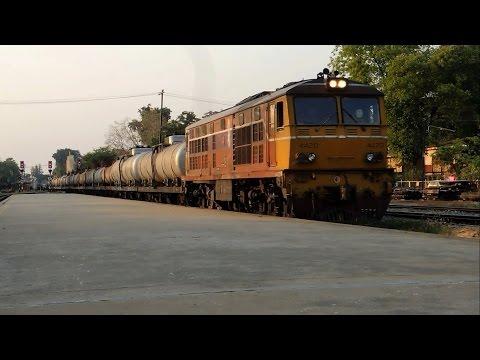 รถไฟไทย # ขบวนรถสินค้า THAILAND FREIGHT TRAINS