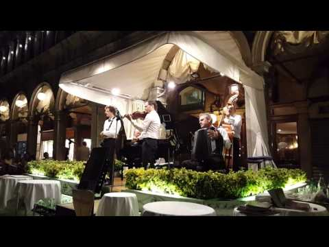 Live Music from St. Mark's Square in Venice