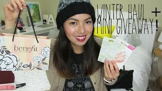 Winter Haul ft. Benefit & ASOS + Mini GIVEAWAY! Thumbnail