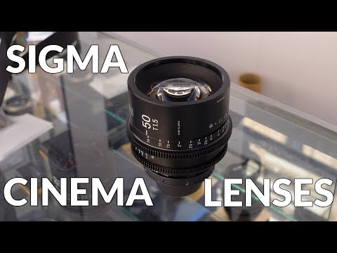 Sigma Cinema Lenses