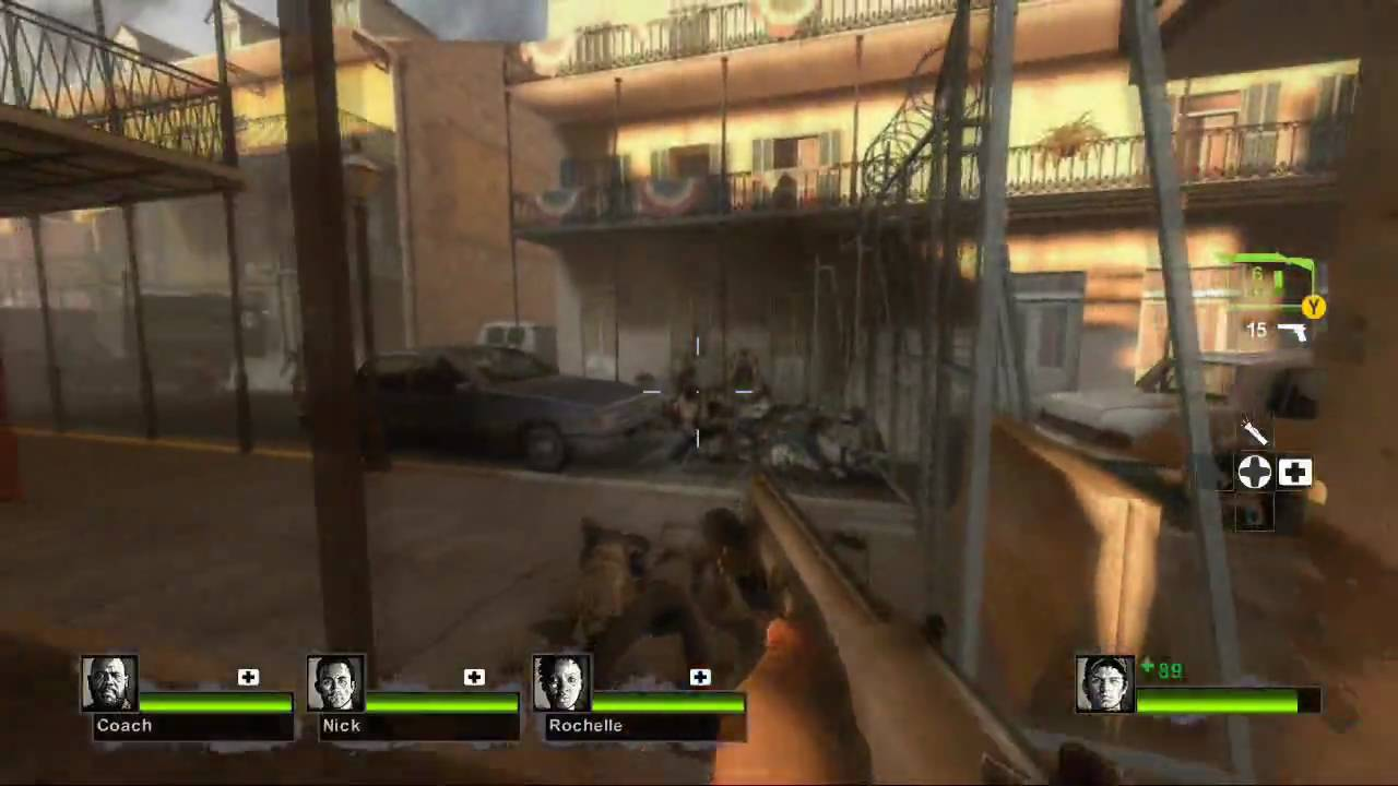 Left 4 Dead 2 Demo Playthrough (Xbox 360)