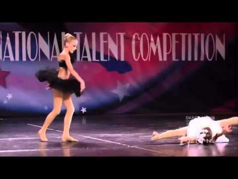 Chloe Lukasiak and Maddie Ziegler- Black Swan- Duet - YouTube