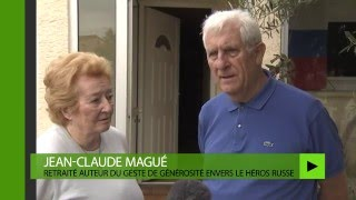Jean-Claude et Micheline Magué ont offert les décorations militaire...