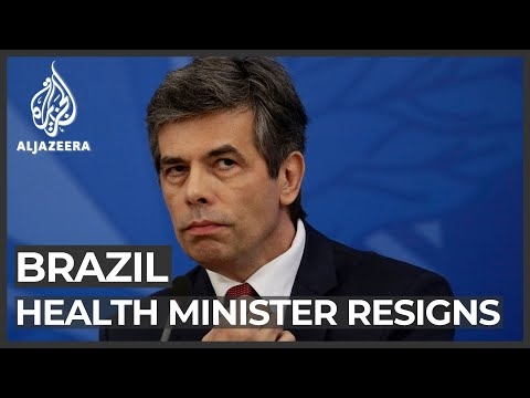 Brazil health minister Teich resigns just weeks into the job