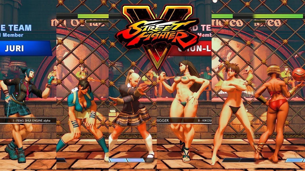 Sexy Sporty Chun Li (C2) - Street Fighter V Mod by KrizmKazm