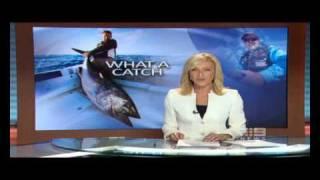 What A Catch - Al McGlashan's 154.7kg Southern Bluefin Tuna on Nine News