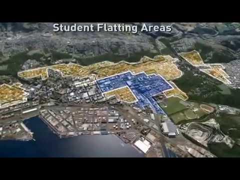 University of Otago   Dunedin   Flyover