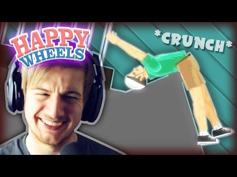 That's Gotta Hurt!.. || Happy Wheels #12 (Funny Moments)