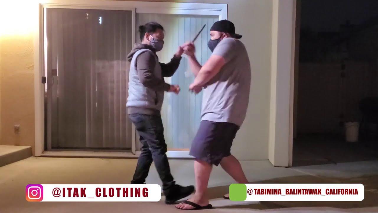 Tabimina Balintawak Training | Filipino Martial Arts | Eskrima