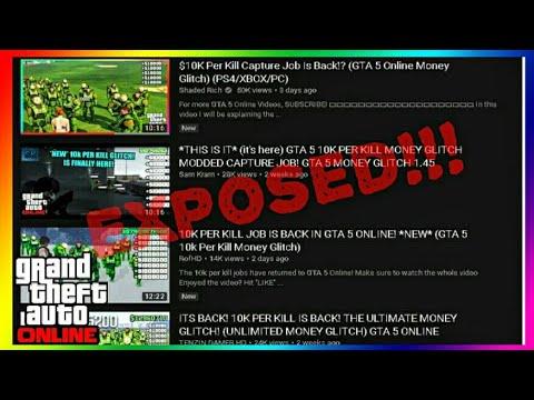 GTA Online 10k Per Kill Job   GTA 5 10k Per Kill Job [EXPOSED!!!]