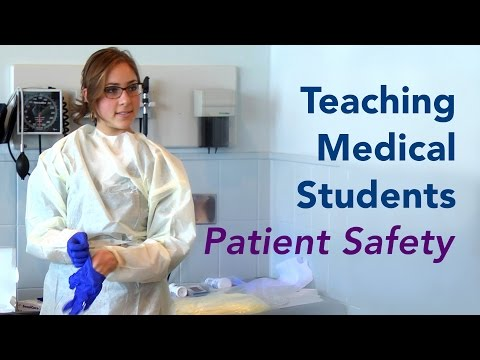 Teaching Medical Students Patient Safety And Quality Improvement