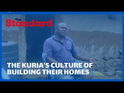 The Kuria's culture of building their homes with a single entrance and a cowshed at the center