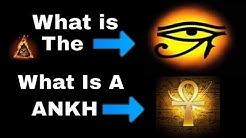 WHAT IS THE ANKH / WHAT IS THE EYE OF RA OR HORUS SYMBOL EXPLAINED And Why Celebrities Wear A ANKH