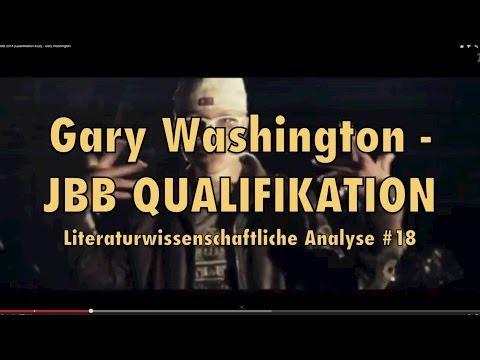 JBB 2014 Gary Washington Qualifikation - Literaturwissenschaftliche Analyse #18