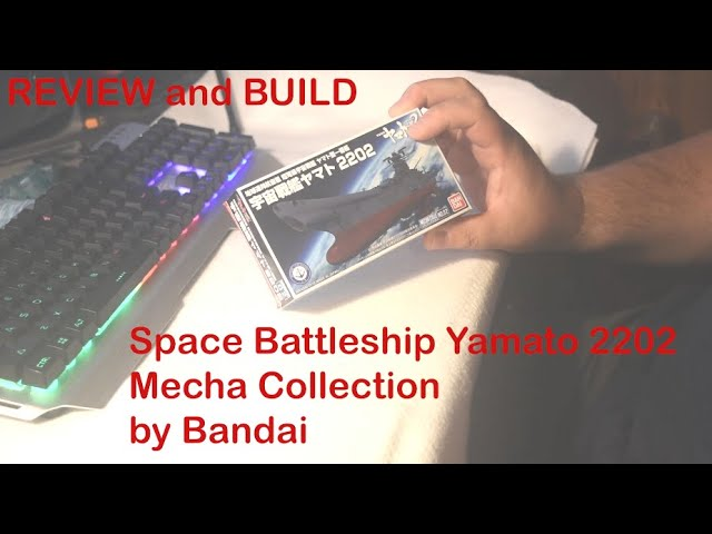REVIEW and BUILD - Space Battleship Yamato 2202 - Mecha Collection - by Bandai