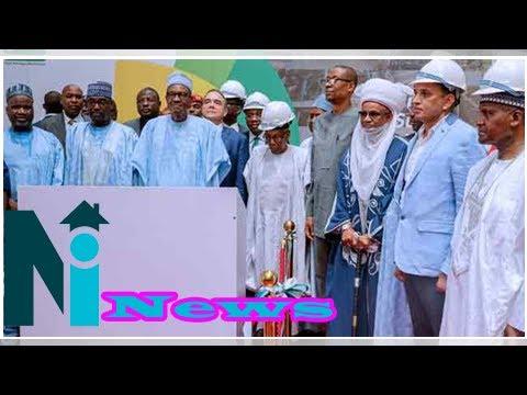 What Buhari said in Niger State