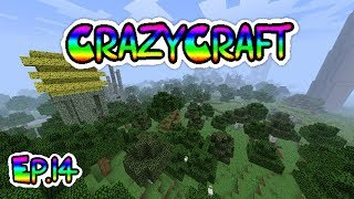 Minecraft CrazyCraft episode 14 A bit more searching for spawn eggs!